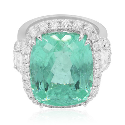 18K Paraiba Tourmaline Gold Ring (CIRARI)