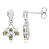Alexandrite Silver Earrings (Molloy)