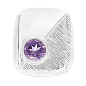 Amethyst Silver Pendant (MONOSONO COLLECTION)
