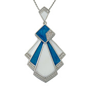 Zircon Silver Necklace (Memories by Vincent)
