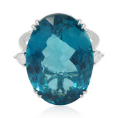 18K Neon Blue Apatite Gold Ring (de Melo)
