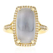 14K Blue Moonstone Gold Ring (CIRARI)