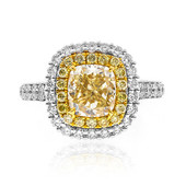 18K SI2 Yellow Diamond Gold Ring (CIRARI)
