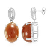 Capillitas Aragonite Silver Earrings