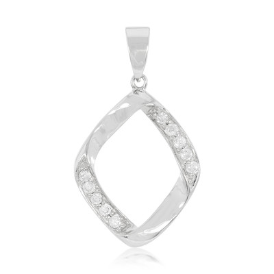 Diamond Silver Pendant