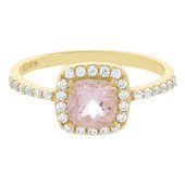 9K Morganite Gold Ring