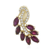 9K Ruby Gold Pendant (Adela Gold)