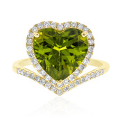14K Dashihe Peridot Gold Ring (CIRARI)