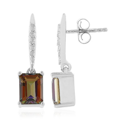 Sienna Mystic Topaz Silver Earrings