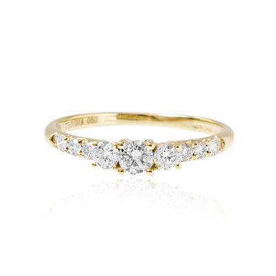 18K SI Diamond Gold Ring