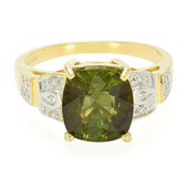 18K Cuprian Tourmaline Gold Ring