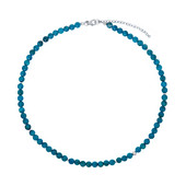 Apatite Silver Necklace