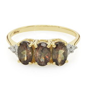 10K Madagascan Colour Change Garnet Gold Ring (Molloy)