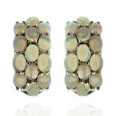 Welo Opal Silver Earrings