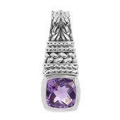 Amethyst Silver Pendant (Nan Collection)