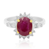 18K AAA Mozambique Ruby Gold Ring (CIRARI)