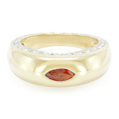 9K Sunset Ruby Gold Ring