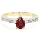 9K Malawi Ruby Gold Ring