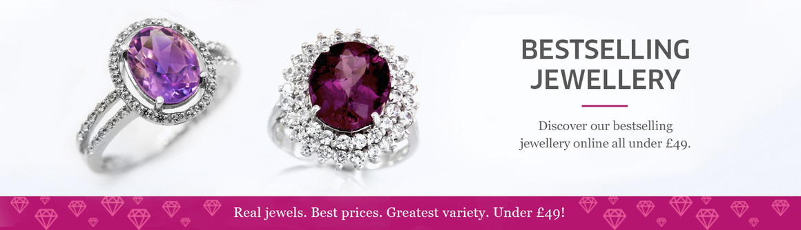 REAL JEWELLERY. BEST PRICES. GREAT VARIETY.