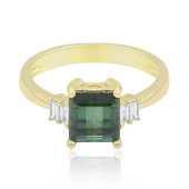 14K Green Tourmaline Gold Ring (CIRARI)