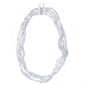 White Moonstone Silver Necklace (Dallas Prince Designs)