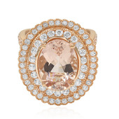 14K Morganite Gold Ring (Dallas Prince Designs)