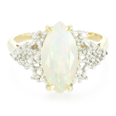 9K Welo Opal Gold Ring