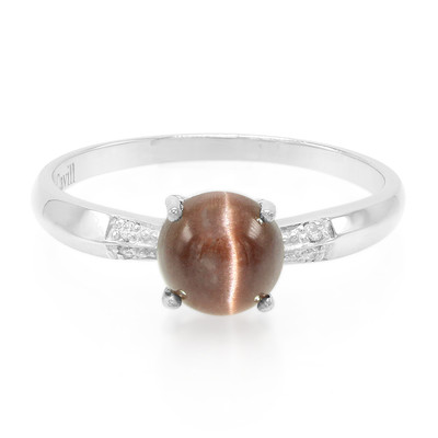 Cat´s Eye Scapolite Silver Ring (Cavill)