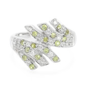 Demantoid Silver Ring