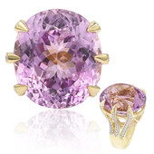 18K Patroke Kunzite Gold Ring