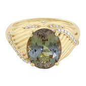 14K Chameleon Tanzanite Gold Ring (de Melo)