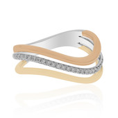 18K SI1 (H) Diamond Gold Ring (CIRARI)