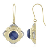 9K Kyanite Gold Earrings