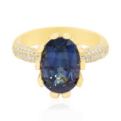 18K Neon Tanzanite Gold Ring (de Melo)