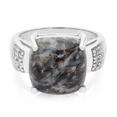 Astrophyllite Silver Ring