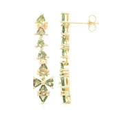 10K Brazilian Alexandrite Gold Earrings (Molloy)