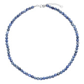 Nepal Kyanite Silver Necklace