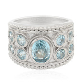 Ratanakiri Zircon Silver Ring (Memories by Vincent)