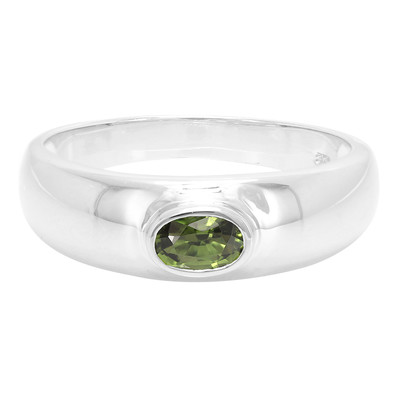 9K Imperial Chrome Tourmaline Gold Ring
