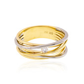 18K Flawless (F) Diamond Gold Ring (LUCENT DIAMONDS)