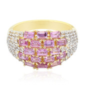 9K Pink Sapphire Gold Ring (Remy Rotenier)