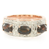 9K Chocolate Zircon Gold Ring