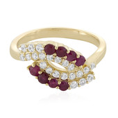 9K Ruby Gold Ring (Adela Gold)