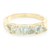 9K Paraiba Tourmaline Gold Ring
