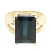 18K Mutuca Indicolite Gold Ring