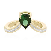 14K Green Tourmaline Gold Ring (de Melo)