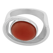Agate Silver Ring (MONOSONO COLLECTION)