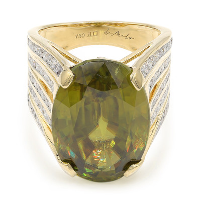 18K Sphene Gold Ring (de Melo)