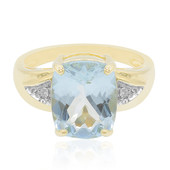 9K Aquamarine Gold Ring