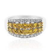 14K SI1 Yellow Diamond Gold Ring (CIRARI)